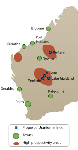 yeelirrie uranium tenements